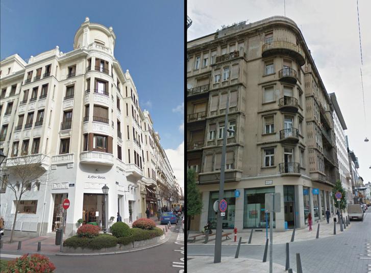 A Teatro Infanta Beatriz (1923) és az OSz-bérház (1929)