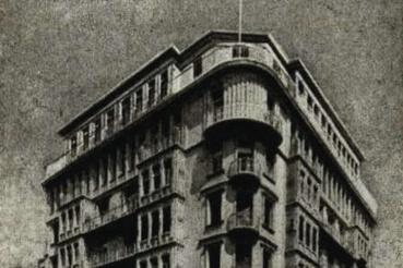 Az OSZ-bérház archív felvétele