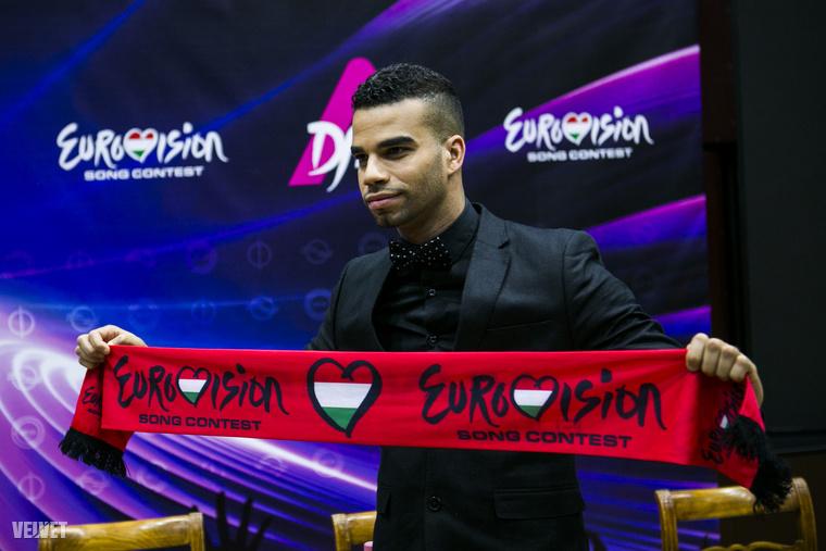 2014-ben nyerte meg az Eurovíziós dalverseny hazai fordulóját, még mindig inkább átlagosnak mondható a frizurája.