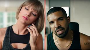 Egy reklám miatt azt gondolják, Taylor Swift most Drake-kel jár