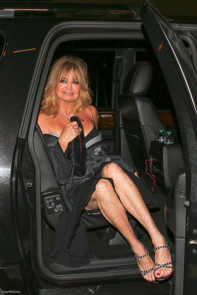 A színésznő a Los Angeles-i Catch LA-ben ünnepelt...