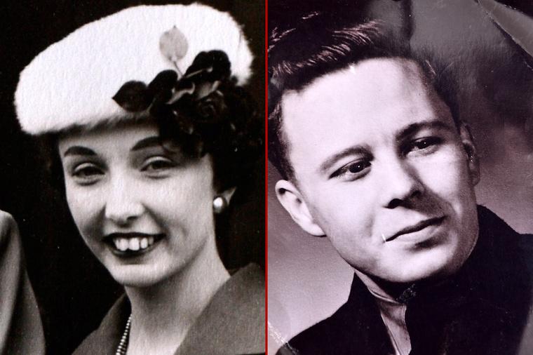 A még fiatal Helen Andre és Davy Moakes