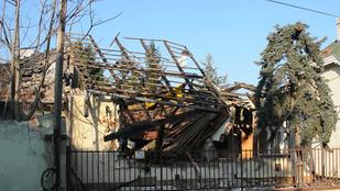 Felrobbant egy ház Újpesten