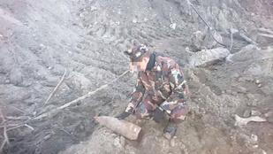 Világháborús bombát találtak a 13. kerületben