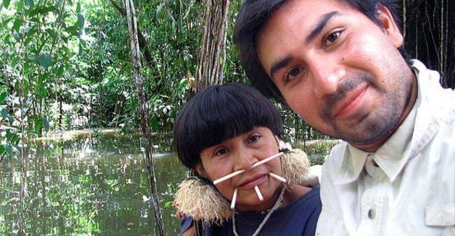 David Good az anyjával, Yarimával