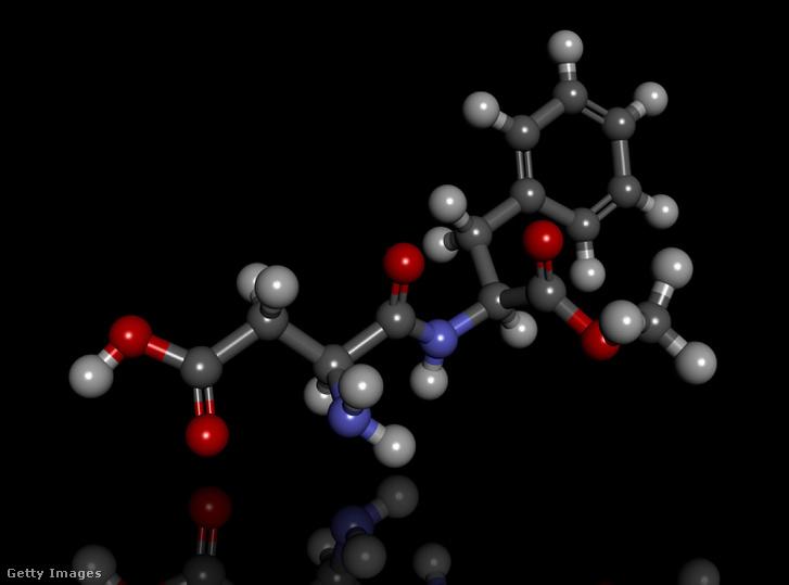 Aszpartámmolekula