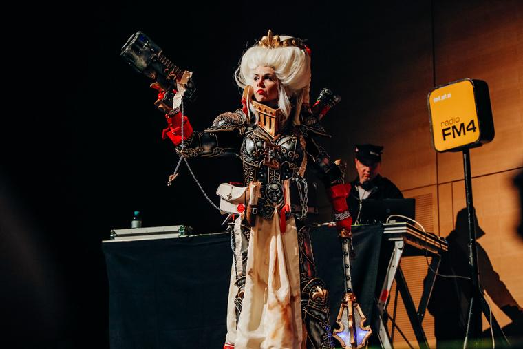 Okkido, a bécsi cosplayer bajnokság magyar győztese.