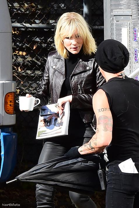 Emlékszik mit iszik Cate Blanchett általában?