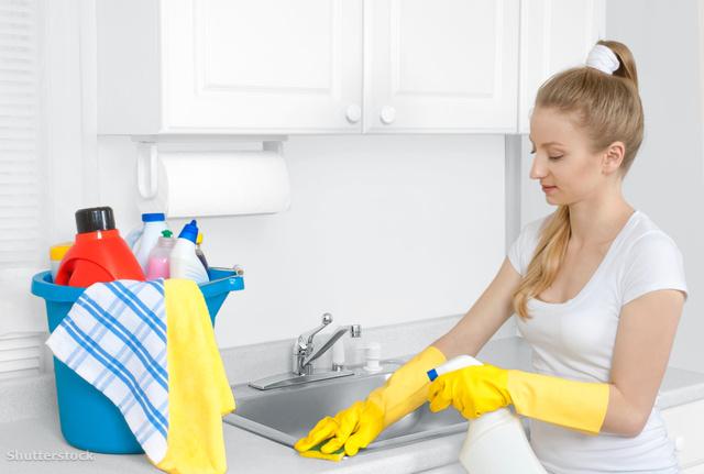 Hogyan kell fogyni takarítás közben a bél
