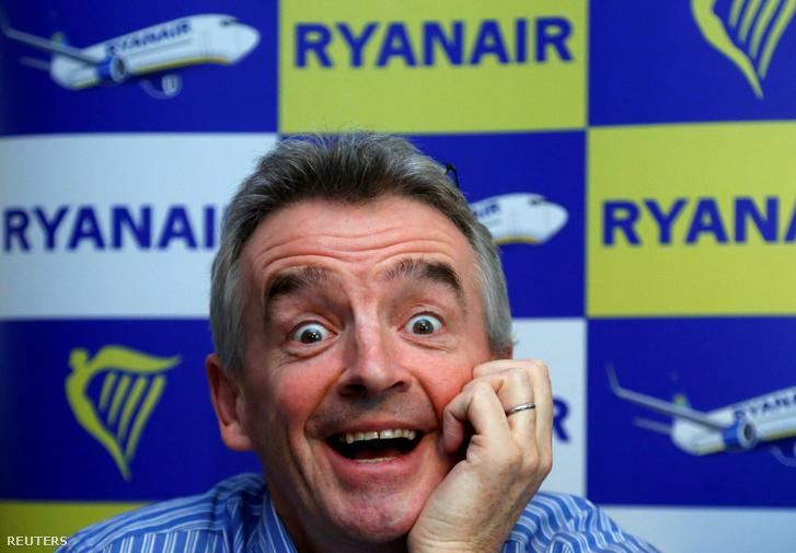 Michael O'Leary a Ryanair vezetője