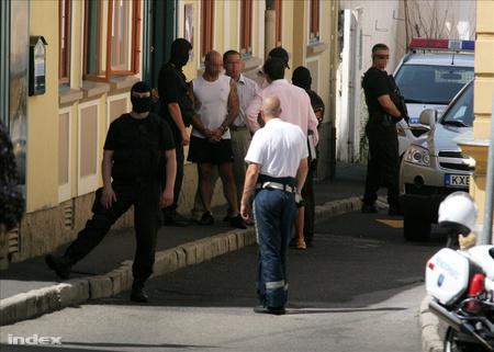 Helyszíni kihallgatás tavaly nyáron Veszprémben