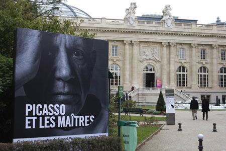 Picasso a Grand Palais-ban