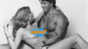 És most abba az évbe repüljünk vissza, amikor Schwarzenegger topless modellel pózolt!
