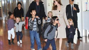 Brad Pitt és Angelina Jolie hálaadáskor sem játssza el a boldog családot