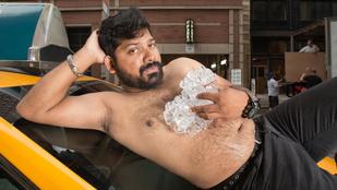 Inkább szórakoztató, mint erotikus a taxisok vetkőzése