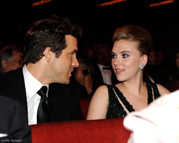 Egy másik Ryan, bizonyos Ryan Reynolds 2008-ban vette feleségül Scarlett Johanssont