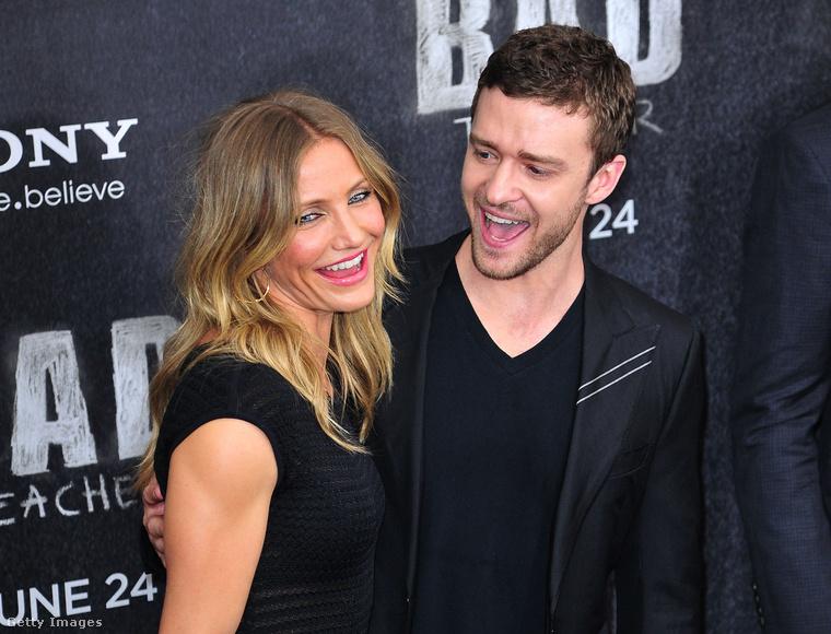Végül emlékezzünk meg Cameron Diaz és Justin Timberlake kapcsolatáról