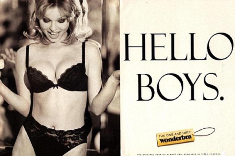 Wonderbra reklám, 1994