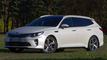 Kia Optima GT Sportwagon - 2016.