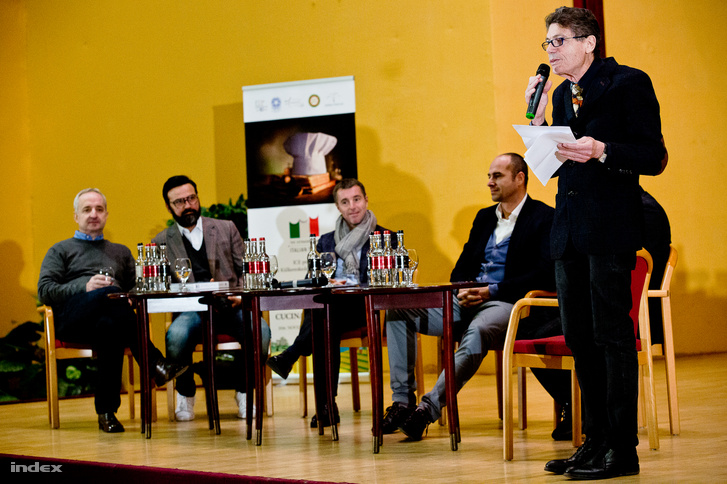 Graziano Cattaneo, Gianni Annoni, Fausto Di Vora, Benedek Tibor és Luigi Cremona
