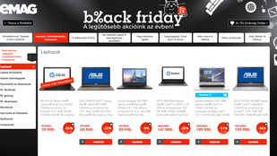 Viszgálja a GVH az Emag a Black Friday akcióját