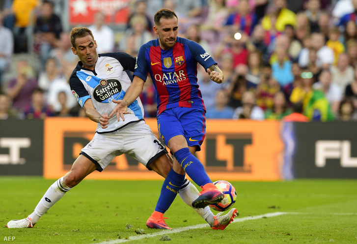 Paco Alcacer jellemző mozdulata