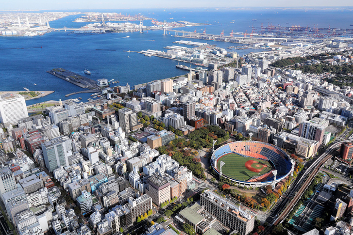 A jokohamai stadion, ahol baseballmérkőzések kapnak majd helyet