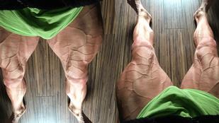 Az alábbi brutális lábak egy 191 centis magyar férfihoz tartoznak