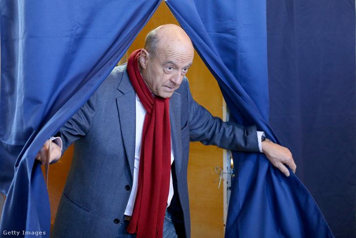 Juppé is leadta szavazatát