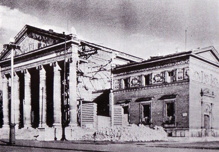 Műcsarnok -bombázás után