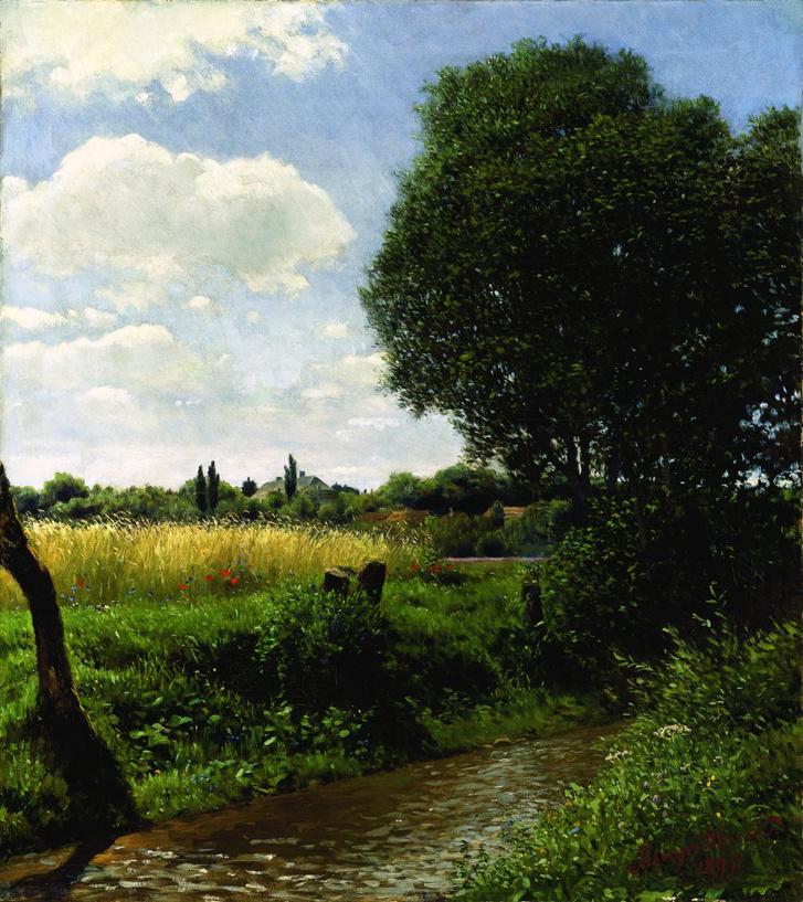 Szinyei-Merse Pál: Patakpart (1897)