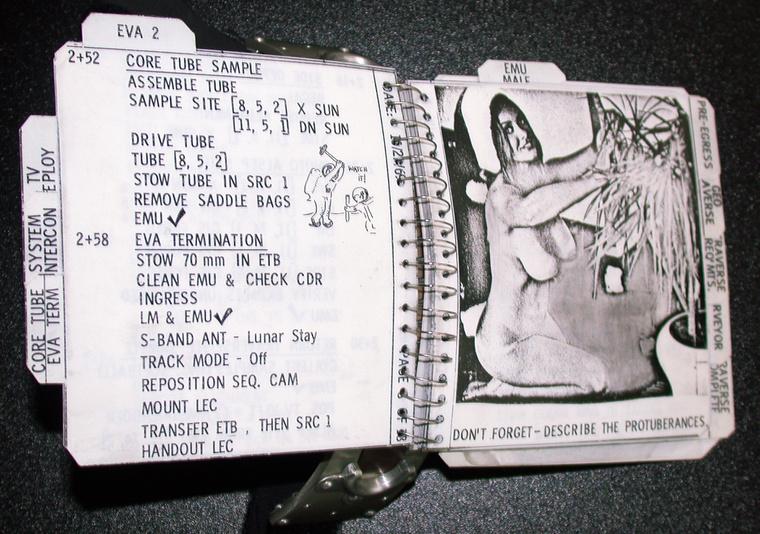 Két-két Playboy-nyuszi nézet vissza rájuk a tűzbiztos lapokról.