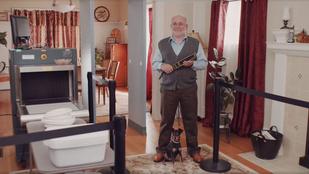 Amikor a nagyi mágneskapuval, a papa pedig fémdetektorral vár