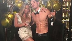 Mariah Carey havajozott egyet kedvenc táncosával