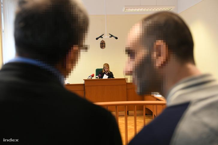 Ahmed H. a Szegedi Törvényszéken.