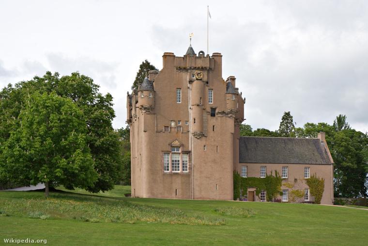 A Crathes kastély