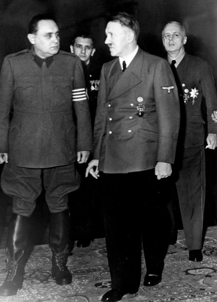 Szálasi és Hitler Berlinben 1944-ben