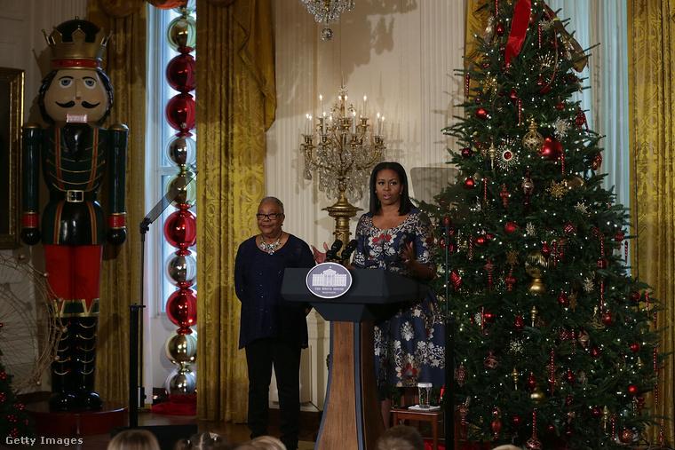 Az idei az utolsó karácsony Obamáéknak a Fehér Házban, januártól ugyanis jön Donald Trump és átveszi a hatalmat.