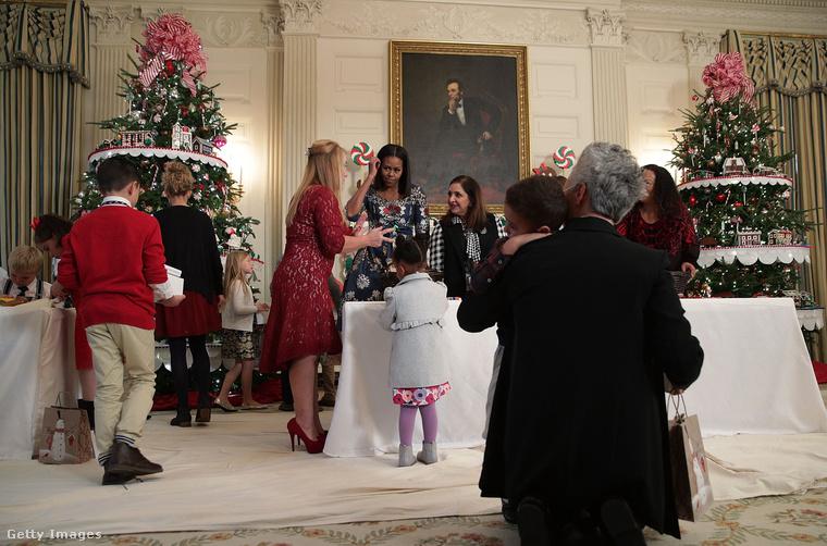 Michelle Obama idén is meghívott katonacsaládokat a Fehér Házba.