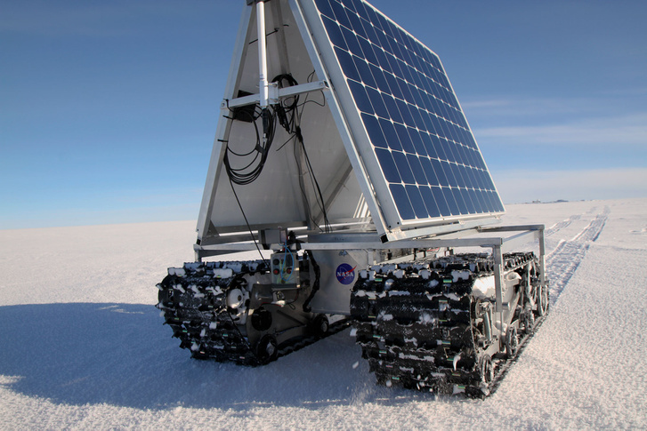 GROVER, a NASA grönlandi robotja adatokat gyűjt a jégtakaró változásairól