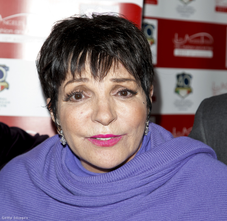 Liza Minnelli is a szerencsések között van 70 felett, bár látta már sebész