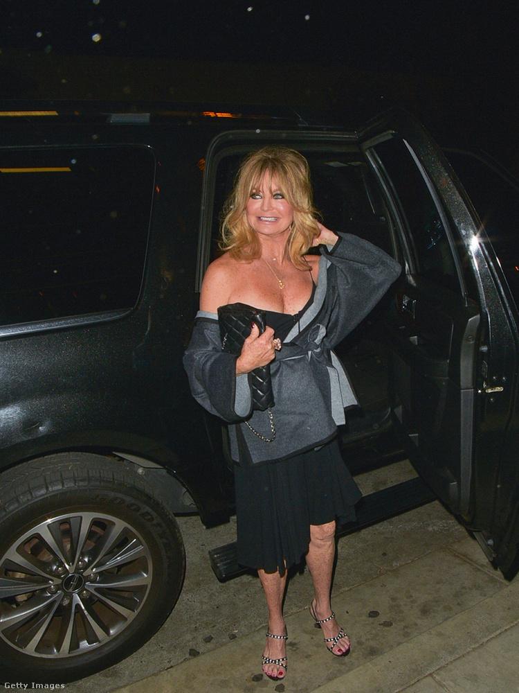 Goldie Hawn éppen a múlt héten ünnepelte a 71