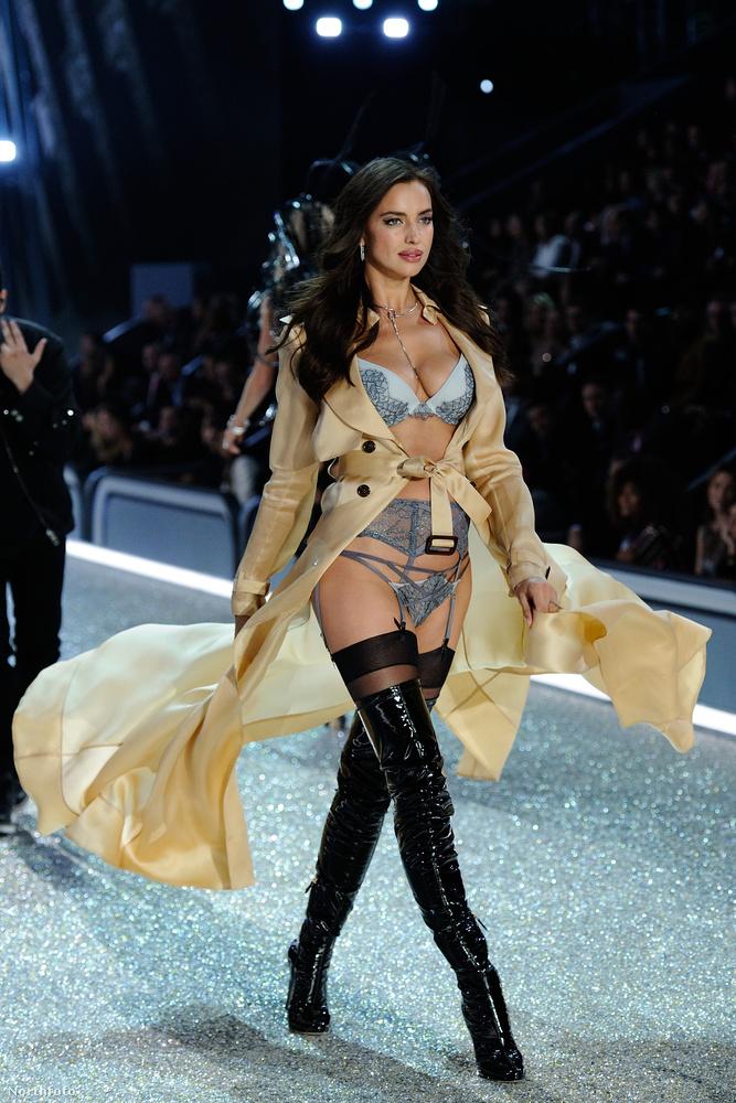 A Victoria's Secret tegnap esti bemutatója nem szólt másról, csak Irina Shaykról.