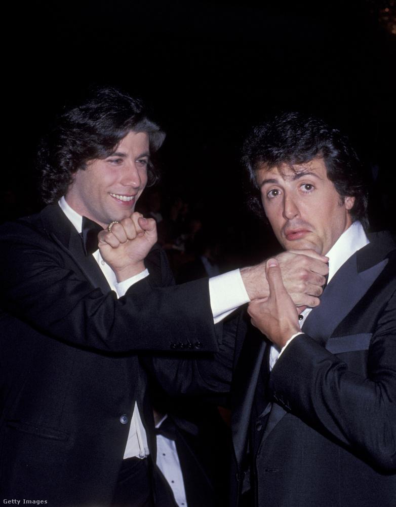 Most pedig következzék John Travolta és Sylvester Stallone, akik az 50