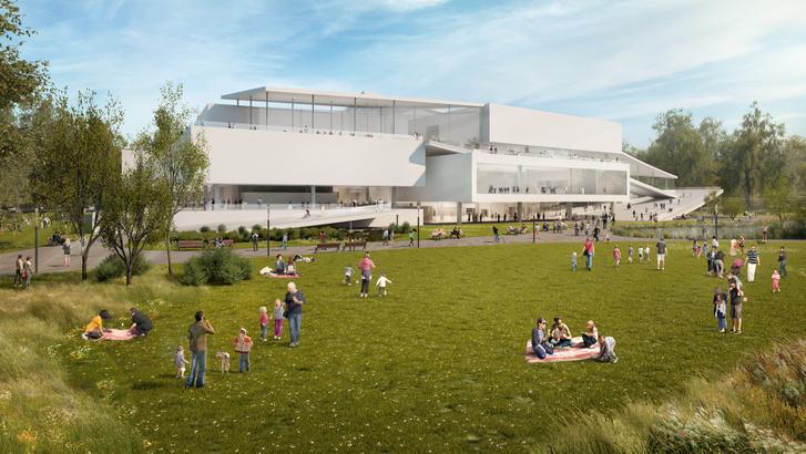 Az Új Nemzeti Galéria a Városligetben