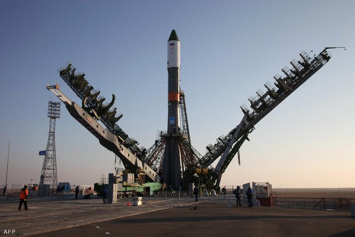 A Progressz MSz-04 az indítás előtt, november 29-én.
