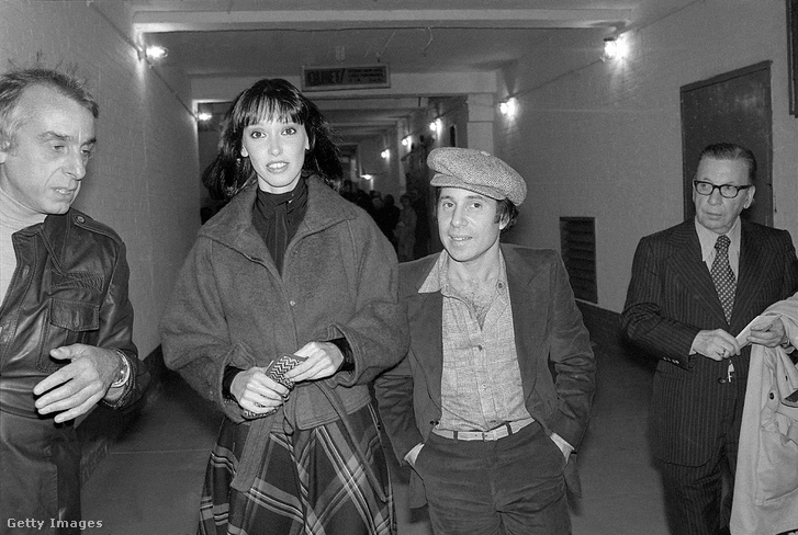 Shelley Duvall és Paul Simon 1977-ben