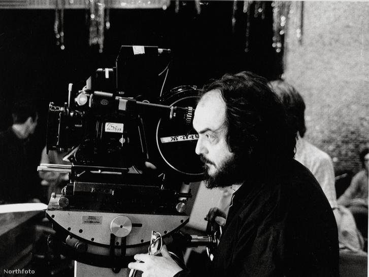 Kubrick A ragyogás forgatásán