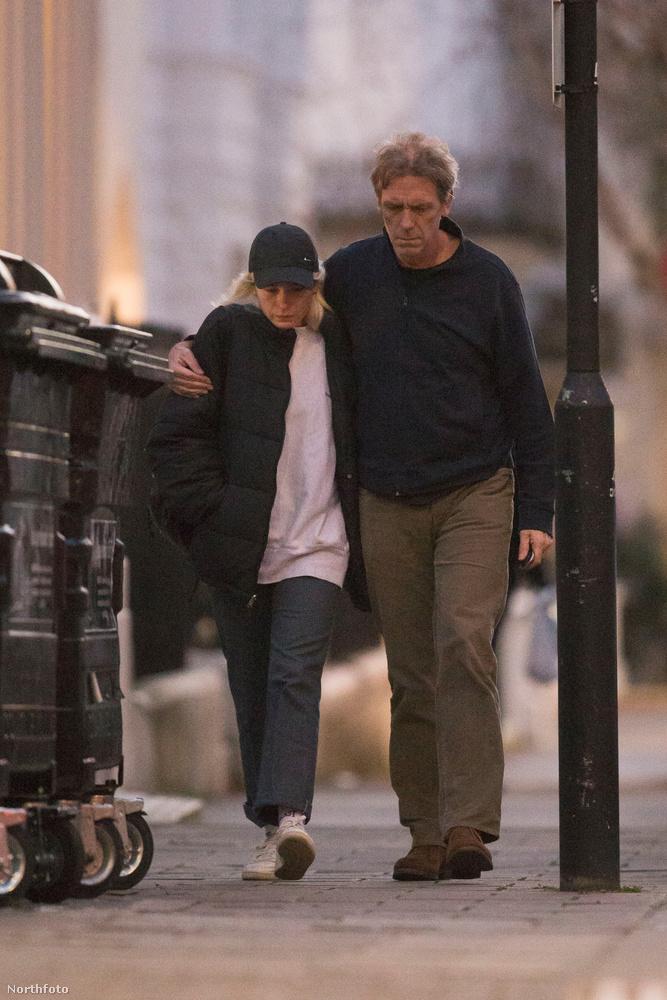 ...a fotó, ami ha hiszi, ha nem, Hugh Laurie-ról készült.                         Igen, mi is látjuk, hogy felismerhetetlen, de tényleg ő az