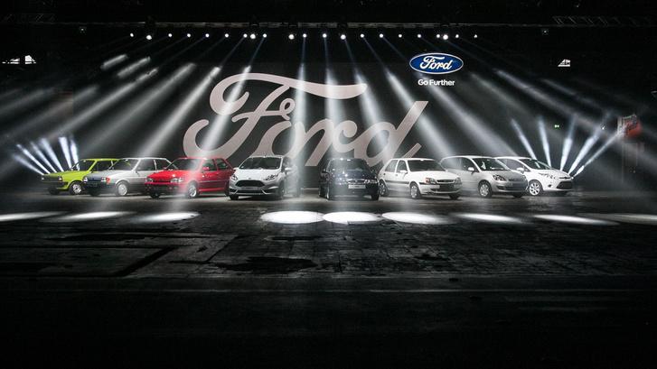 Az összes Fiesta-generáció
